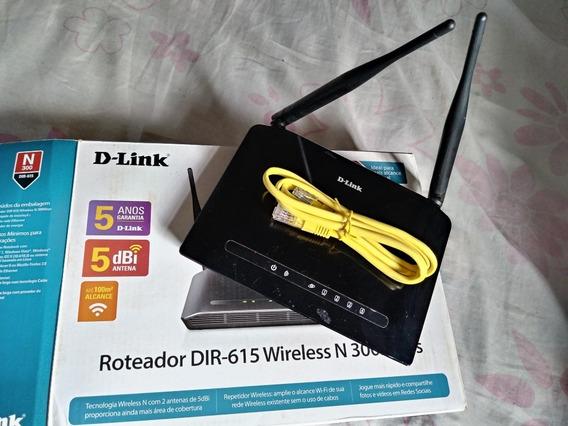 Roteador Wireless D-link De 300mbps
