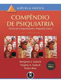 Livro Compêndio De Psiquiatria Kaplan & Sadock 11ª Ed 2017