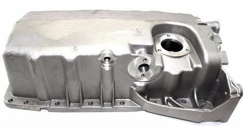 Carter De Óleo Do Motor Vw Audi A3 Golf Turbo C/ Furo Sensor