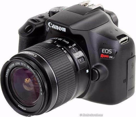 Câmera T6 Canon