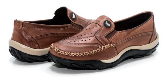 Sapato Mocassins Masculino Couro Atenção Oferta Imperdível