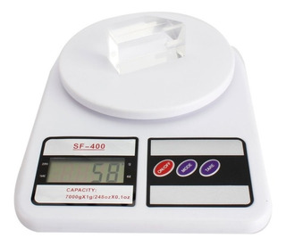 Balanza Digital De Cocina Tara 1gr A 7 Kg En Caja A Pilas
