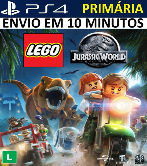 Lego Jurassic World Ps4 Original**1