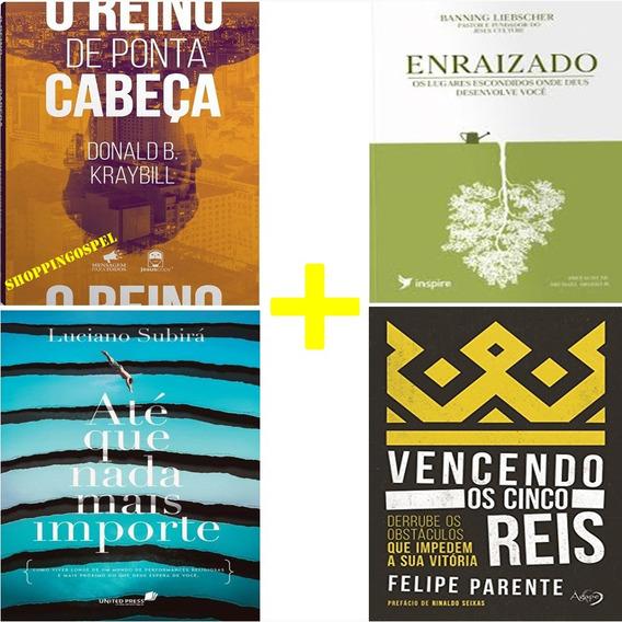 Kit 4 Livros Vencendo Os Cinco Reis + Enraizado E Mais