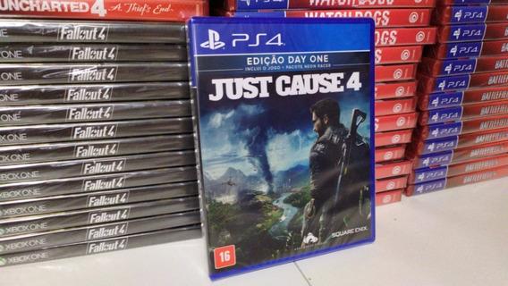 Just Cause 4 Day One Ed. Ps4 Mídia Física Português Original