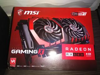 Msi Radeon Rx 480 8gb Gaming X