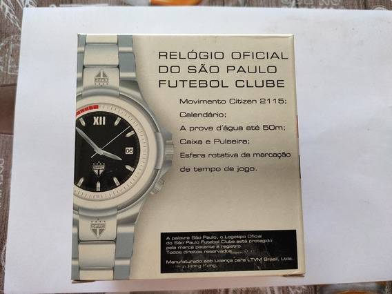 Relógio Oficial Do São Paulo