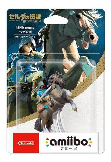 Amiibo Link Rider Legend Of Zelda Breath Of The Wild Switch
