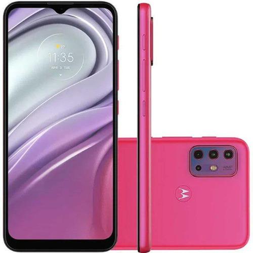 Imagem 1 de 6 de Smartphone Motorola Xt2128-1 Moto G20 64gb Rosa