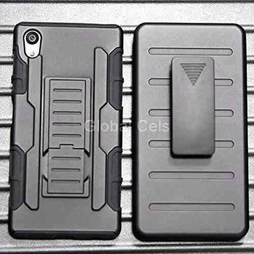 Case Sony Xperia Z5 Protector Gancho Funda Holster Gorila