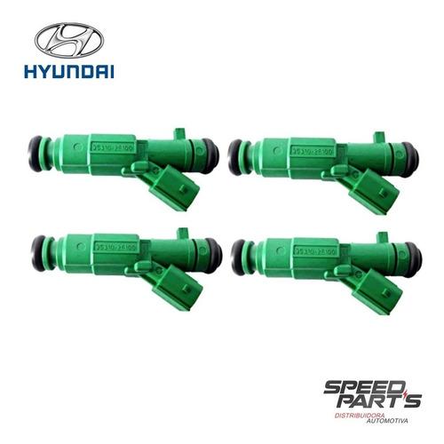 Imagem 1 de 1 de Bico Injetor Hyundai I30 2014 À 2015 353102e100 Original