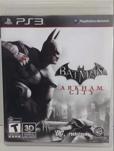 Jogo De Ps3 Batman - Arkham City - Frete Grátis