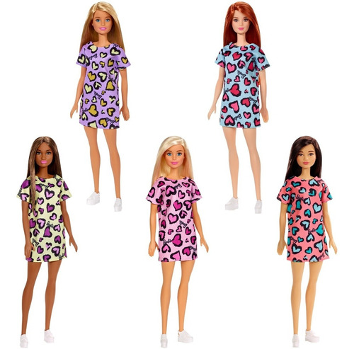 Barbie Fashionista Muñeca Básica Para Niñas