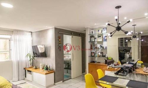 Imagem 1 de 28 de Apartamento Com 2 Dormitórios À Venda, 65 M² Por R$ 277.000,00 - Cangaíba - São Paulo/sp - Ap0451
