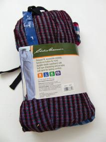 Eddie Bauer 2 Pantalon Pijama Algodon Flannel L Caballero