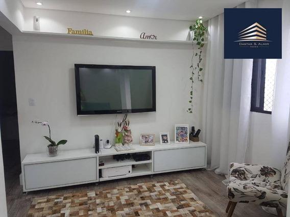 Apartamento No Condomínio Piazza Della Fontana, 3 Dormitórios, 2 Vagas, Aceita Permuta Maior Valor. - Ap0702