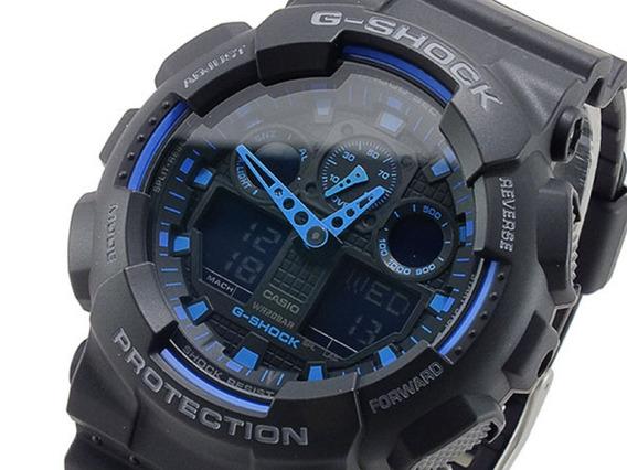 Relogio Casio G-shock Ga100-1a2dr -12x Sem Juros - Ga-100