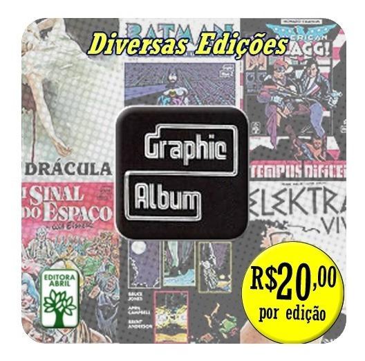 Graphic Album - Editora Abril - Diversas Edições