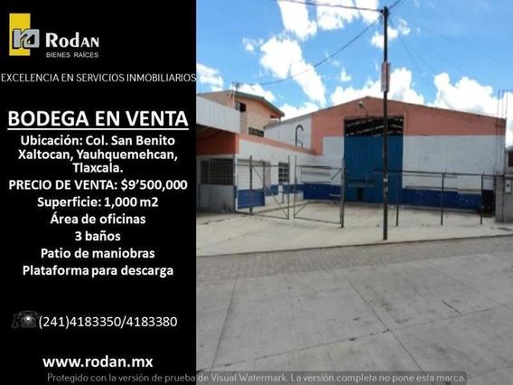 Bodega Comercial En Venta San Benito Xaltocan