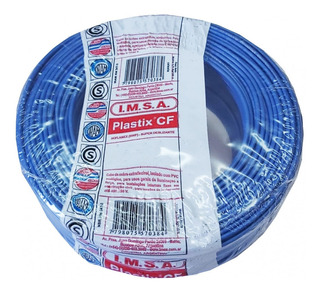 Cable Normalizado 1,5mm2 Celeste Cf 1.5 Cel