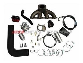 Kit Turbo Ford Zetec Rocam 1 0 (ka / Fiesta) - Com Turbina