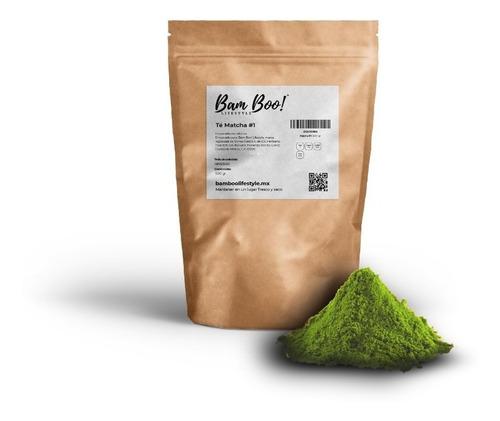 Té Matcha #1 500 Gr Bam Boo! Lifestyle Super Foods