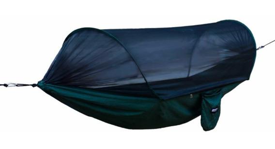 Rede Descanso Dormir Solteiro Com Mosquiteiro Harpia Nautika