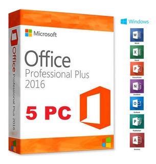 Office Professional Plus 2016 No Pague Mas Caro Por Lo Mismo