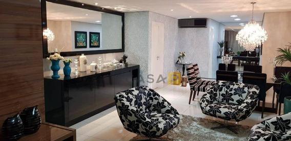 Apartamento Com 3 Dormitórios À Venda, 156 M² Por R$ 1.050.000 - Jardim Bela Vista - Nova Odessa/sp - Ap0494