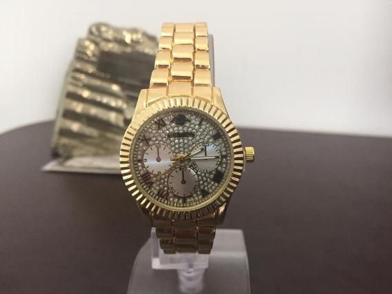 Relógios Feminino Pulso Quartzo Aço Inoxidável Metal P3181