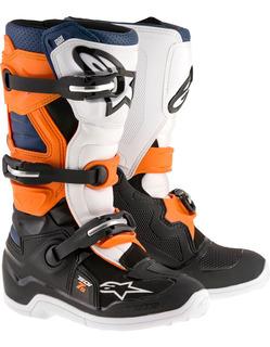 Botas Moto Alpinestars Tech 7s Neg/nar/bla/az Talla 06