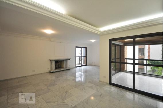 Apartamento No 4º Andar Com 4 Dormitórios E 3 Garagens - Id: 892791588 - 91588