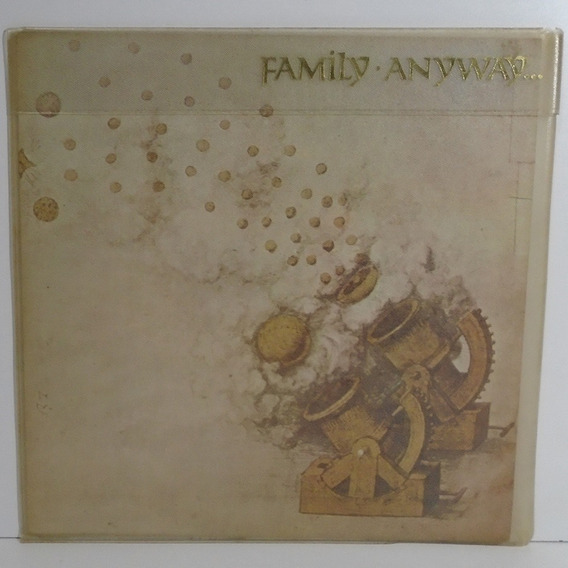 Family 1970 Anyway Lp Capa Dupla Com Capa Plástica Externa
