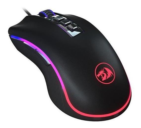 Mouse Gamer Redragon King Cobra Chroma 24000dpi Preto