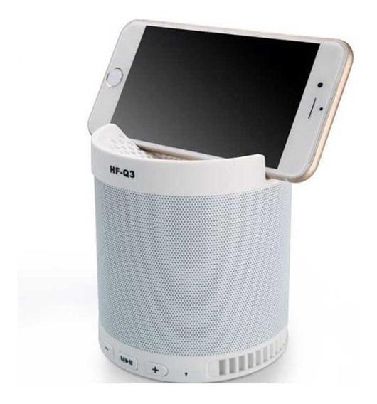Caixinha Bluetooth De Som Q3 Top Barata Smartphone Celular Usb Radio Pen Drive Linda Cartão Sd Suporte Para Celular