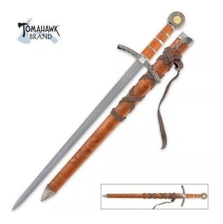 Espada Medieval Real De Acero Tomahawk