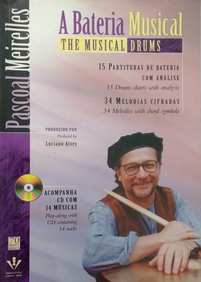 A Bateria Musical - Livro - Pascoal Meireles