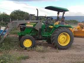 Tractor John Deere Mod. 5075 E 2016