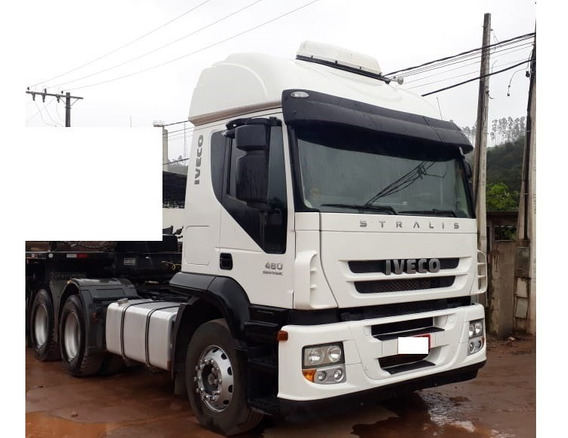 Iveco 480 Stralis 6x4 Ano 2014/14 = Scania Volvo 460 540 500