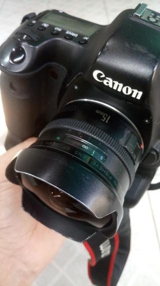 Objetiva Canon 15mm F2.8 Fisheye