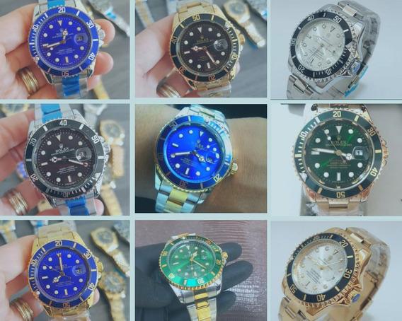 Kit 3 Relógios De Luxo + Frete Grátis