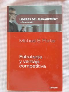 Libro Estrategia Y Ventaja Competitiva, De Michael E. Porter