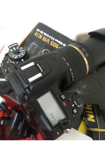 Corpo Câmera Nikon D7100 + Grip Apenas 2.735 Clicks