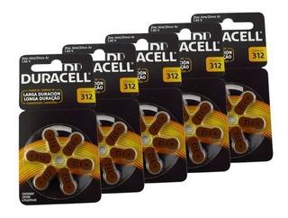 Pack 30 Duracell Activair 312 Batería Audífonos - Todopilas