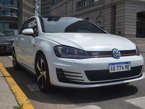 Volkswagen Golf 2.0 Gti Tsi + Cuero + Gps + App Connect