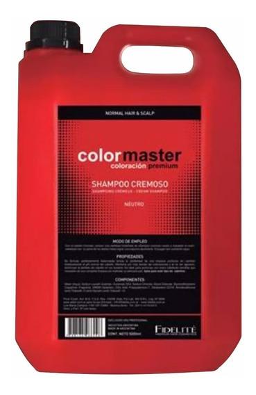 Fidelité - Colormaster - Shampoo Cremoso Neutro Ph 6,5 5000m