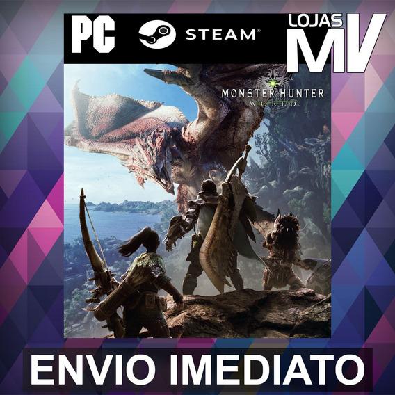 Monster Hunter: World Pc Steam Gift Presente