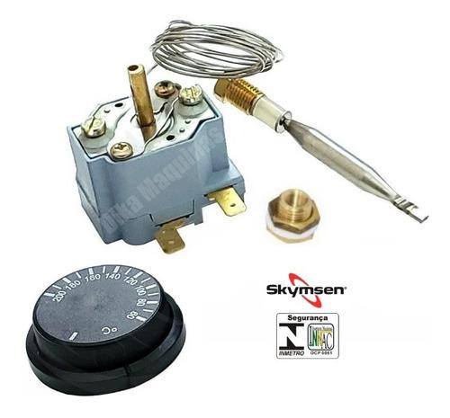 Termostato Regulador Fritadeira Elétrica Siemsen / Skymsen