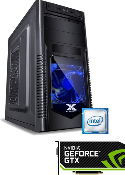 Pc Gamer I3 6100 H110m 8gb 2400mhz Ssd 120gb 400w 1050ti
