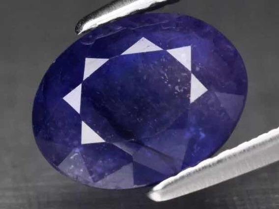 Safira Natural 1.65 Cts, Blue. Certificado Glc.